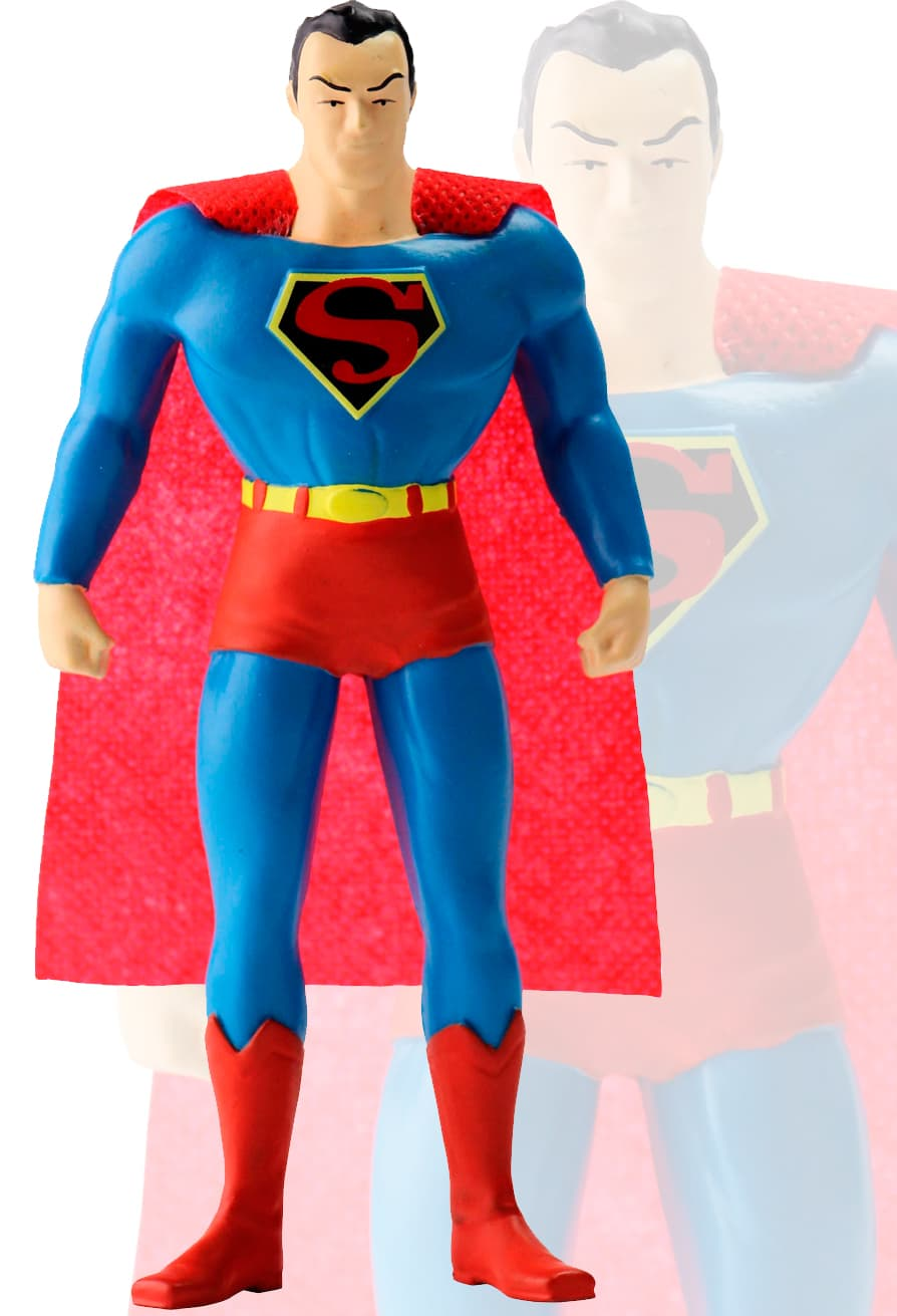SUPERMAN FIGURA FLEXIBLE 14 CM JUSTICE LEAGUE ...