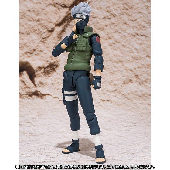 Hatake Kakashi Figura 15 Cm Naruto Shippuden Sh Figuarts