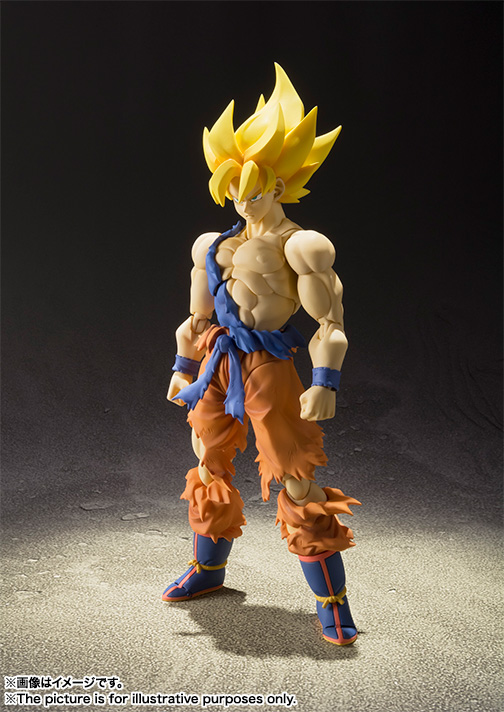 Super Saiyan Son Goku Super Warrior Awakening Figura 16 Cm Dragon Ball Z Sh Figu