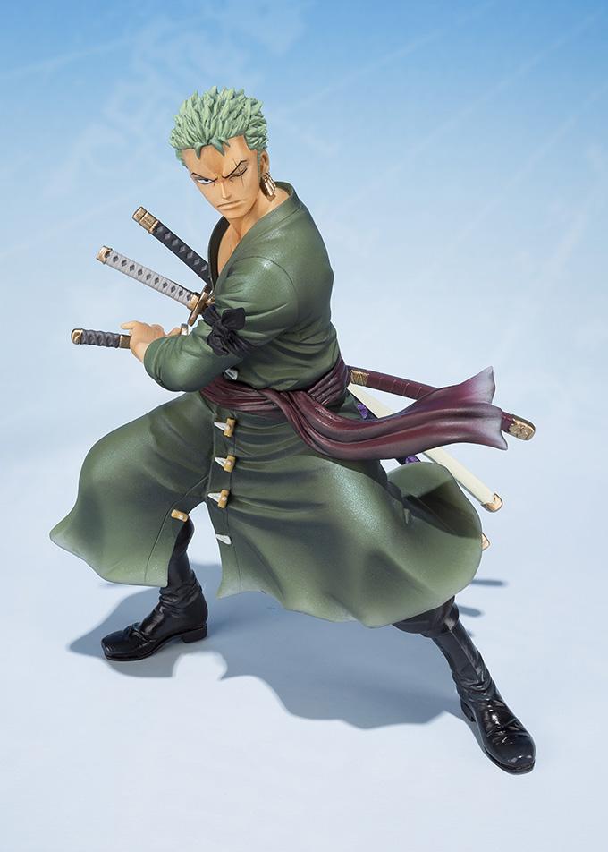Roronoa Zoro 5th Anniversary Figura 12,5 Cm One Piece Figuarts Zero