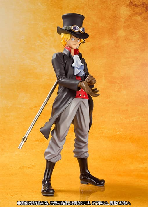SABO FILM GOLD VERSION FIGURA 15 CM ONE PIECE ...