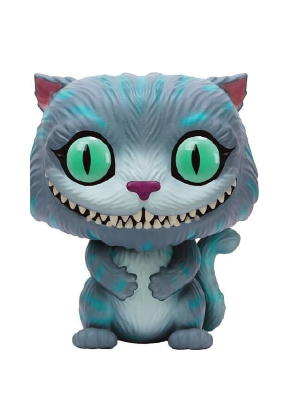 GATO CHESHIRE FIG. 10 CM VINYL POP DISNEY ALIC...