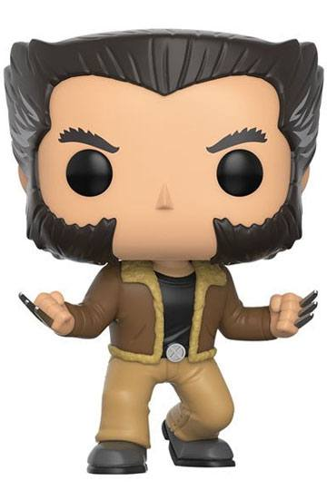 X-Men POP! Marvel Vinyl Cabezón Logan 9 cm