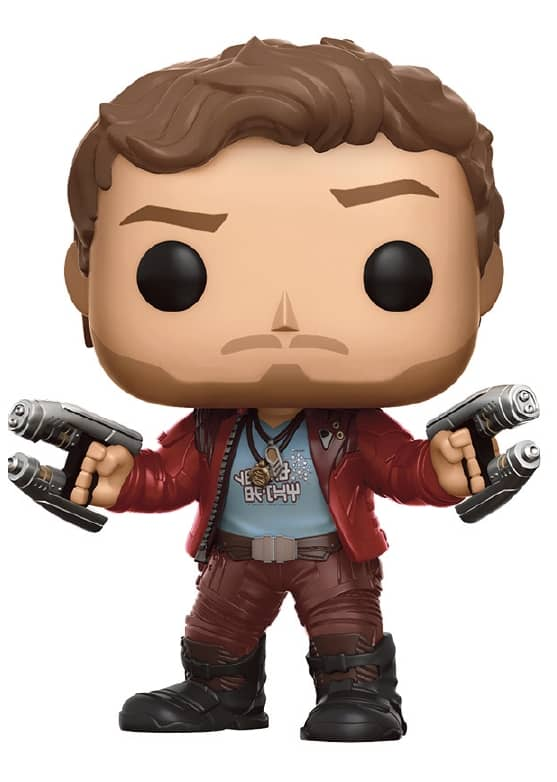 STAR-LORD FIG.10 CM VINYL POP GUARDIANS OF THE...