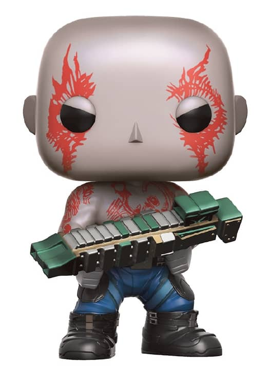 DRAX FIG.10 CM VINYL POP GUARDIANS OF THE GALA...